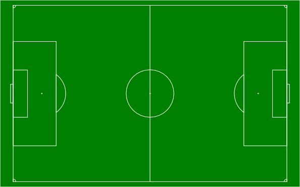 Blank Soccer Field Template